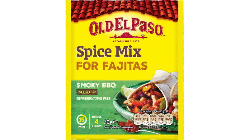 Smoky BBQ Spice Mix Fajitas